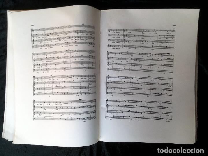 Libros de segunda mano: LA MUSICA EN LA CORTE DE LOS REYES CATÓLICOS - I.- POLIFONÍA RELIGIOSA - ANGLES - Foto 5 - 160678158