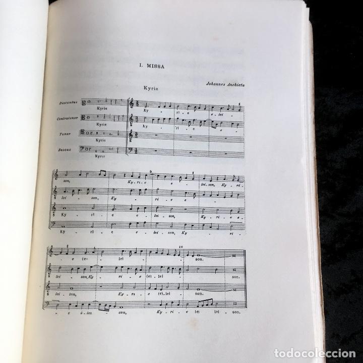 Libros de segunda mano: LA MUSICA EN LA CORTE DE LOS REYES CATÓLICOS - I.- POLIFONÍA RELIGIOSA - ANGLES - Foto 10 - 160678158