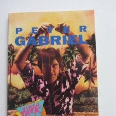 Livros em segunda mão: PETER GABRIEL QUIM CASAS VIDEO ROCK SALVAT, 96 PAGINAS 13X18 FOTOS CS140B. Lote 160963466