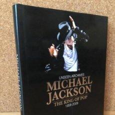 Libros de segunda mano: MICHAEL JACKSON THE KING OF POP 1958-2009. UNSEEN ARCHIVES - GRAN FORMATO. MUY ILUSTRADO.COMO NUEVO. Lote 162001962