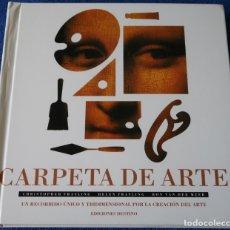 Libros de segunda mano: CARPETA DE ARTE - LIBRO POP-UP - EDICIONES DESTINO (1995). Lote 163077976