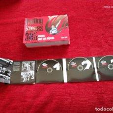 Libros de segunda mano: GRAN LIBRO FOTOGRAFÍAS ROLLING STONES+ TRIPLE CD GRRR! NUEVOS. Lote 205595148