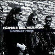 Libros de segunda mano: HEROES DEL SILENCIO, SENDEROS DE TRAICIÓN / LIBRO + CD. Lote 167550968