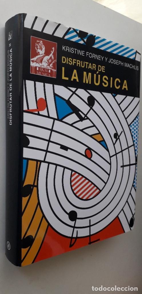 Libros de segunda mano: DISFRUTAR DE LA MUSICA (INCLUYE 2 CD) - KRISTINE FORNEY, JOSEPH MACHLIS - Foto 2 - 167941420