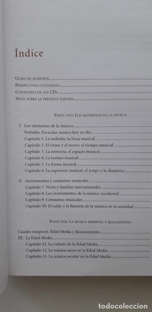 Libros de segunda mano: DISFRUTAR DE LA MUSICA (INCLUYE 2 CD) - KRISTINE FORNEY, JOSEPH MACHLIS - Foto 5 - 167941420