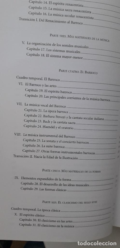 Libros de segunda mano: DISFRUTAR DE LA MUSICA (INCLUYE 2 CD) - KRISTINE FORNEY, JOSEPH MACHLIS - Foto 6 - 167941420