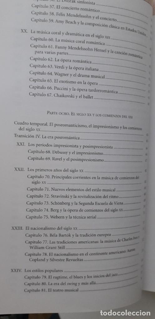 Libros de segunda mano: DISFRUTAR DE LA MUSICA (INCLUYE 2 CD) - KRISTINE FORNEY, JOSEPH MACHLIS - Foto 8 - 167941420