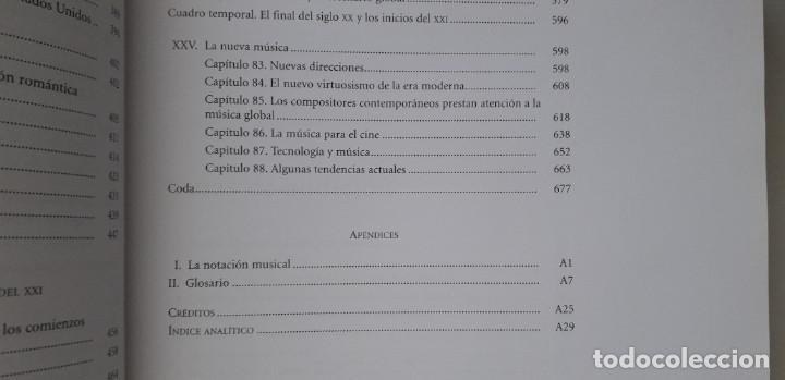Libros de segunda mano: DISFRUTAR DE LA MUSICA (INCLUYE 2 CD) - KRISTINE FORNEY, JOSEPH MACHLIS - Foto 9 - 167941420