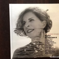 Libros de segunda mano: LOS HOMBRES SENSIBLE. SOLE GIMENEZ. SIN CD. COMO NUEVO. Lote 167964526