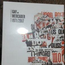 Libros de segunda mano: GAY MERCADER TOUR POSTERS 1971/2017 PROLOGO DE DIEGO A. MANRIQUE (NUEVO Y PRECINTADO, SIN ABRIR). Lote 168314228