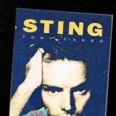 Libros de segunda mano: STING, TONI GARBÓ. Lote 168409158