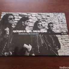 Libros de segunda mano: HÉROES DEL SILENCIO. SENDEROS DE TRAICIÓN. CONTIENE 1 CD. Lote 169008830