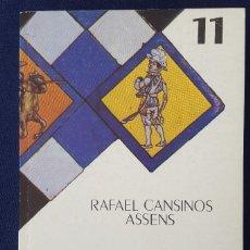 Libros de segunda mano: LA COPLA ANDALUZA. FOLCLORE. RAFAEL CANSINOS ASSENS. Lote 169011312