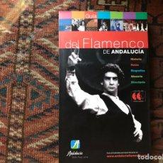 Libros de segunda mano: GUÍA DEL FLAMENCO EN ANDALUCÍA. DOS CDS CON LOS PALOS DEL FLAMENCO. MUY DIFÍCIL. COMO NUEVO. Lote 169667582