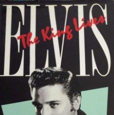 Libros de segunda mano: ELVIS PRESLEY - LIBRO THE KING LIVES - JOHN ALVAREZ TAYLOR. Lote 170063100