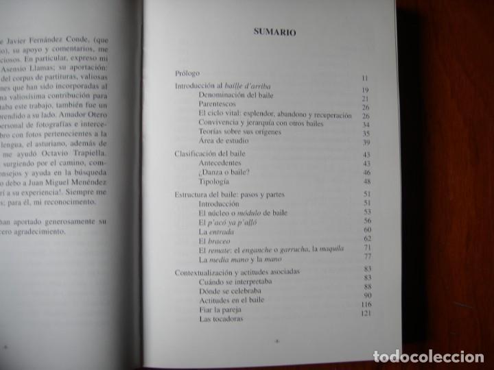 Libros de segunda mano: LIBRO EL BAILE D`ARRIBA EL SON DE LA MONTAÑA OCCIDENTAL ASTUR LEONESA - Foto 9 - 170099704