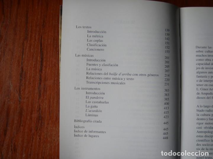 Libros de segunda mano: LIBRO EL BAILE D`ARRIBA EL SON DE LA MONTAÑA OCCIDENTAL ASTUR LEONESA - Foto 10 - 170099704