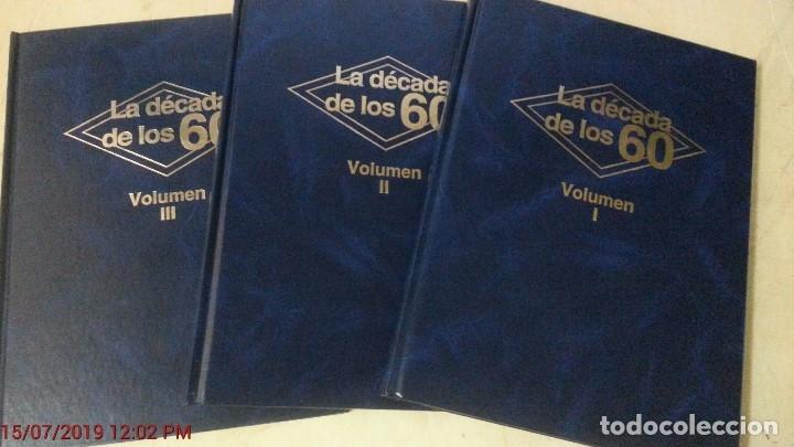 LA DECADA DE LOS 60 - 3 TOMOS (TOMOS I, II Y III)-ED.CLUB INTERNACIONAL DEL LIBRO - AÑO 1984 (ILUST) (Libros de Segunda Mano - Bellas artes, ocio y coleccionismo - Música)