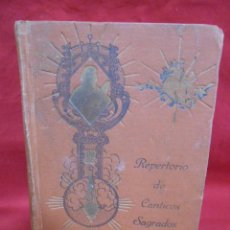 Libros de segunda mano: REPERTORIO DE CÁNTICOS SAGRADOS - J. GONZÁLEZ ALONSO - COCULSA, 6ª ED. DE LAS VOCES, 1946 - COMPLETO. Lote 171348365