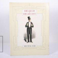 Libros de segunda mano: GRAN FORMATO EN INGLÉS- SHEET MUSIC COVERS / SOME GIRLS DO AND SOME GIRLS DON'T - QUARTET BOOKS 1985. Lote 171406882