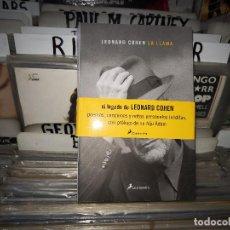 Libros de segunda mano: LA LLAMA : LEONARD COHEN. Lote 171698804
