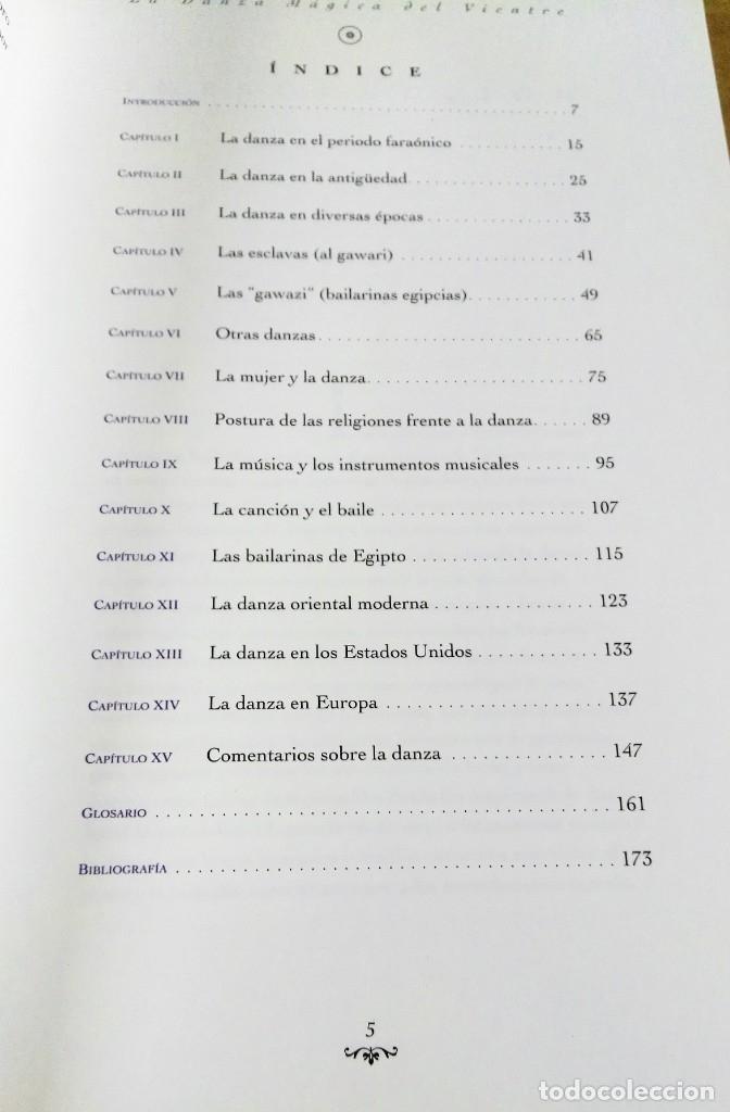 Libros de segunda mano: Shokry Mohamed, La danza mágica del vientre, Mandala ediciones, Madrid, 1995 - Foto 3 - 172310477