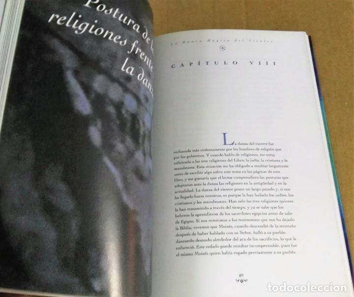 Libros de segunda mano: Shokry Mohamed, La danza mágica del vientre, Mandala ediciones, Madrid, 1995 - Foto 4 - 172310477