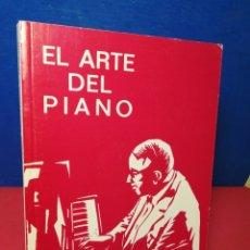 Libros de segunda mano: EL ARTE DEL PIANO, CONSIDERACIONES DE UN PROFESOR - HEINRICH NAUHAUS - REAL MUSICAL, 2004. Lote 172326064