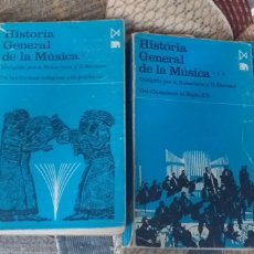 Libros de segunda mano: A. ROBERTSON, D. STEVENS (DIRS.). HISTORIA GENERAL DE LA MÚSICA, I, II, III Y IV. RMT83421.. Lote 173412900