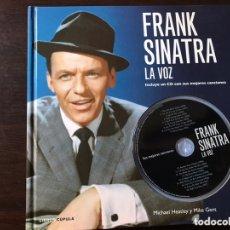 Libros de segunda mano: FRANK SINATRA. LA VOZ. CD INCLUIDO. MICHAEL HEATLEY. Lote 173823984