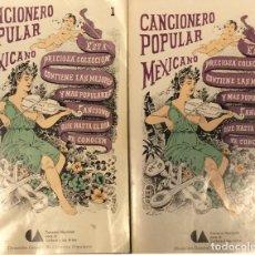 Libros de segunda mano: CANCIONERO POPULAR MEXICANO - 2 VOLS. - AA. VV.. Lote 175382307
