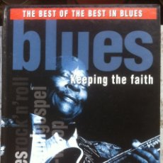 Libros de segunda mano: BLUES. KEEPING THE FAITH. THE BEST OF THE BEST IN BLUES. KEITH SADWICK - FOLIO 2000. Lote 175439192