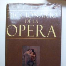 Libros de segunda mano: DICCIONARIO DE LA ÓPERA. PAHLEN. Lote 176644042