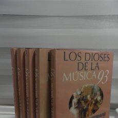 Libros de segunda mano: LOS DIOSES DE LA MUSICA 93 - EDITORIAL PLANETA - COMPLETA - 5 TOMOS. Lote 177320187