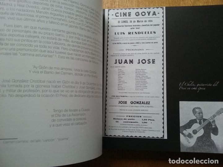 Libros de segunda mano: EL PRESI 100 AÑOS DE UN MITO DE LA CANCION ASTURIANA, FELIX MARTIN MARTINEZ, EDITORIAL LARIA, TONADA - Foto 4 - 177485752
