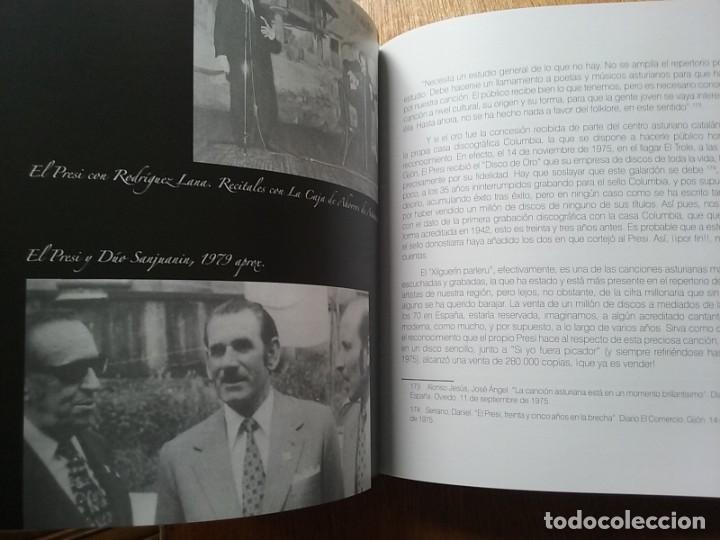 Libros de segunda mano: EL PRESI 100 AÑOS DE UN MITO DE LA CANCION ASTURIANA, FELIX MARTIN MARTINEZ, EDITORIAL LARIA, TONADA - Foto 6 - 177485752