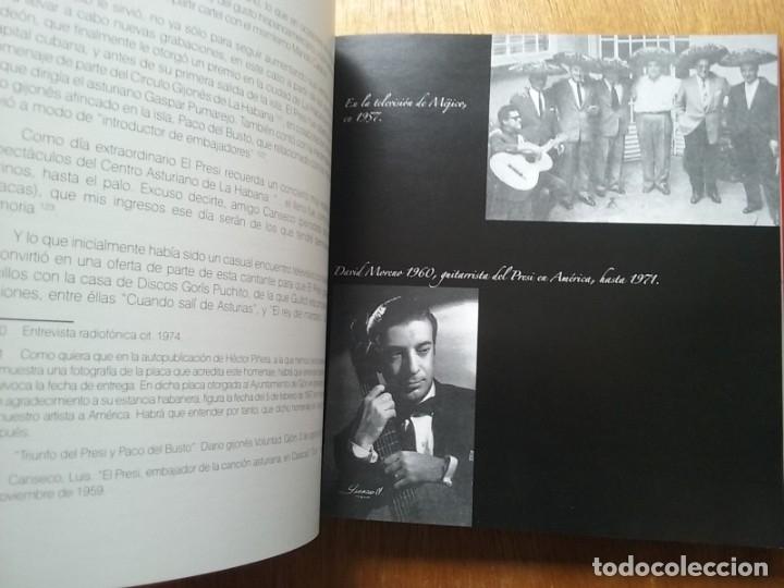 Libros de segunda mano: EL PRESI 100 AÑOS DE UN MITO DE LA CANCION ASTURIANA, FELIX MARTIN MARTINEZ, EDITORIAL LARIA, TONADA - Foto 7 - 177485752