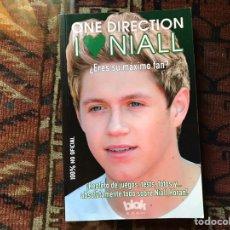 Libros de segunda mano: ONE DIRECTION. I LOVE NIALL.. Lote 178992342
