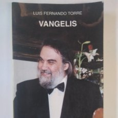 Libros de segunda mano: VANGELIS / LUIS FERNANDO TORRE. CATEDRA. POP ROCK. Lote 179127821
