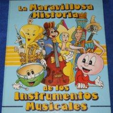 Libros de segunda mano: LA MARAVILLOSA HISTORIA DE LOS INSTRUMENTOS MUSICALES - STEPHANE GRIS - EVEREST (1984). Lote 179397898