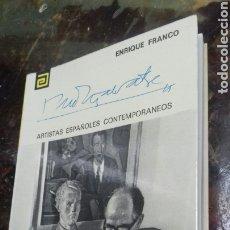Libros de segunda mano: ARTISTAS ESPAÑOLES CONTEMPORANEOS. XAVIER MONTSALVATGE. Lote 180097940