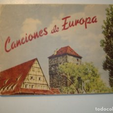 Libros de segunda mano: CANCIONES DE EUROPA - 3ª EDICIÓN - MUSEO CATEQUÍSTICO DIOCESANO. Lote 180127488