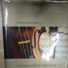 Libros de segunda mano: AUDITORIUM CINCO SIGLOS DE MUSICA INMORTAL CRONICA DE LA MUSICA -PLANETA . Lote 180138428