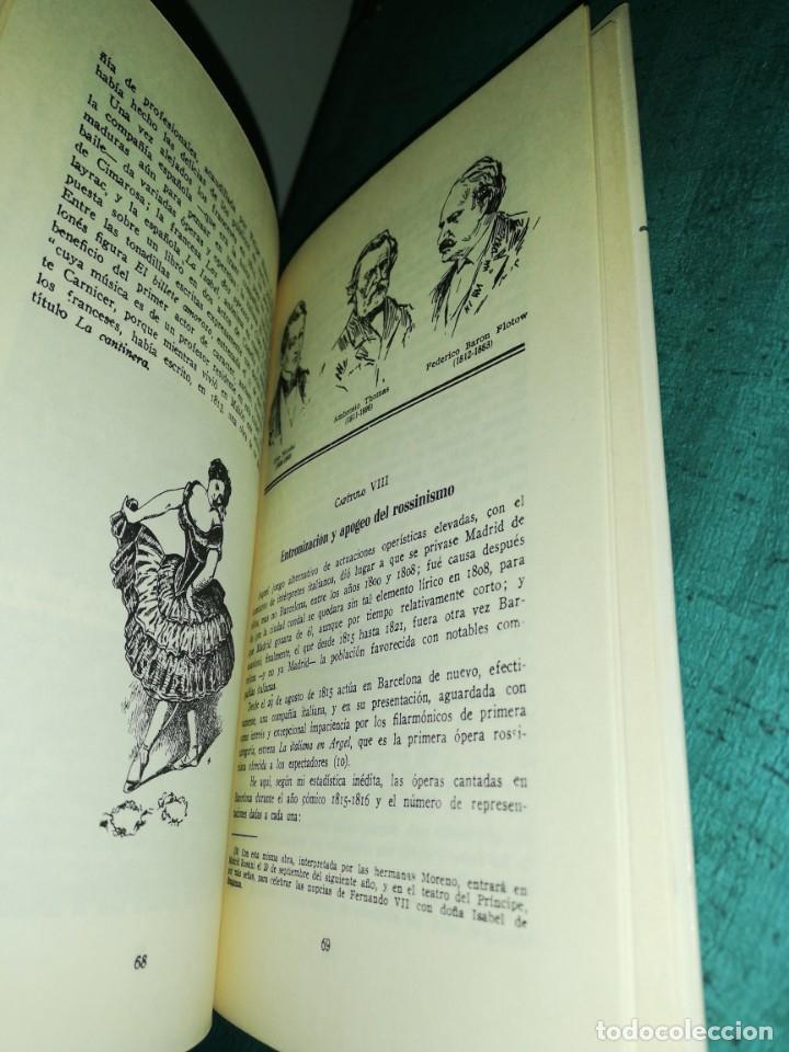 Libros de segunda mano: La opera en los teatros de Barcelona, por José subira 1946, ilustrado - Foto 3 - 180430725