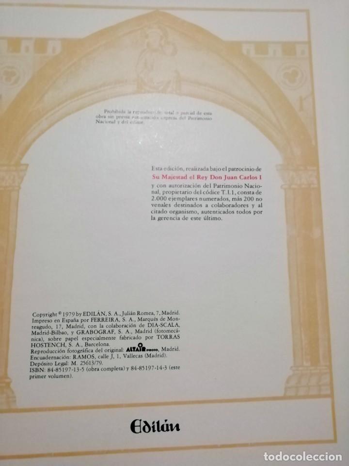Libros de segunda mano: CANTIGAS DE SANTA MARIA DE ALFONSO X EL SABIO, códice rico de El Escorial, s. XIII - Foto 2 - 180891017