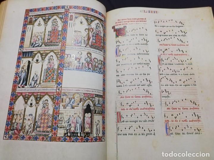 Libros de segunda mano: CANTIGAS DE SANTA MARIA DE ALFONSO X EL SABIO, códice rico de El Escorial, s. XIII - Foto 5 - 180891017