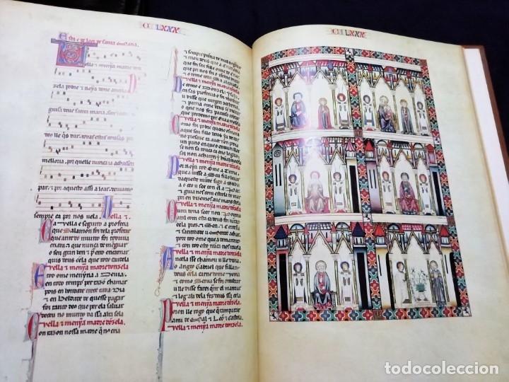 Libros de segunda mano: CANTIGAS DE SANTA MARIA DE ALFONSO X EL SABIO, códice rico de El Escorial, s. XIII - Foto 6 - 180891017