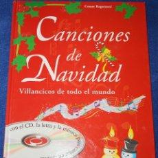 Libros de segunda mano: CANCIONES DE NAVIDAD - VILLANCICOS DE TODO EL MUNDO - EDITORIAL DE VECCHI - CESARE REGAZZIONI (2001). Lote 181619555