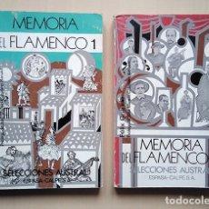 Libros de segunda mano: FÉLIX GRANDE: MEMORIA DEL FLAMENCO · 2 TOMOS. PRIMERA EDICIÓN, 1979. PRÓLOGO J. M. CABALLERO BONALD. Lote 181623903