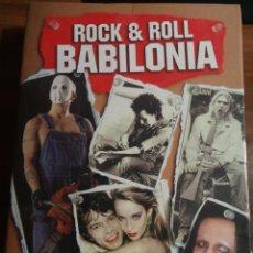 Libros de segunda mano: LIBRO ROCK & ROLL BABILONIA. GARY HERMAN. AÑO 2006. BUEN ESTADO.. Lote 182430473